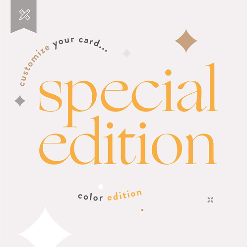 Special Edition  - Color Edition