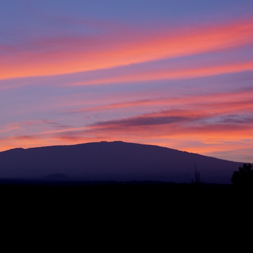 Christmas Sunrise on Mauna Kea