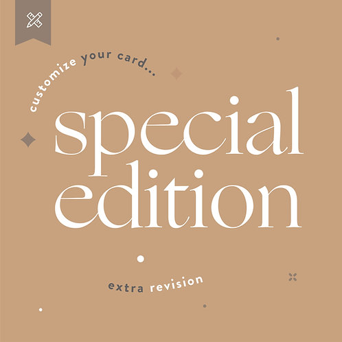 Special Edition Weddings - Extra Revision