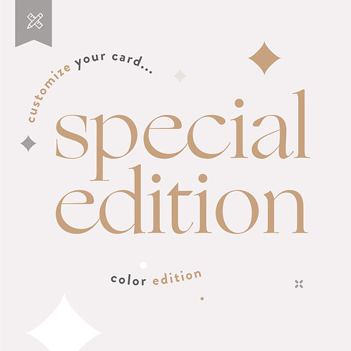 Special Edition Weddings - Color Edition