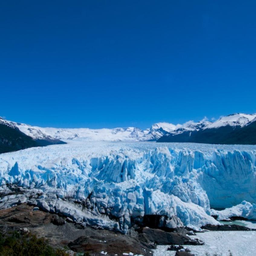 The Perito Moreno Glacier is a glacier located in the Los Glaciares National Park
