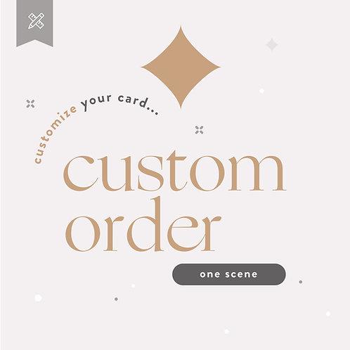 Custom Order Weddings - One Scene