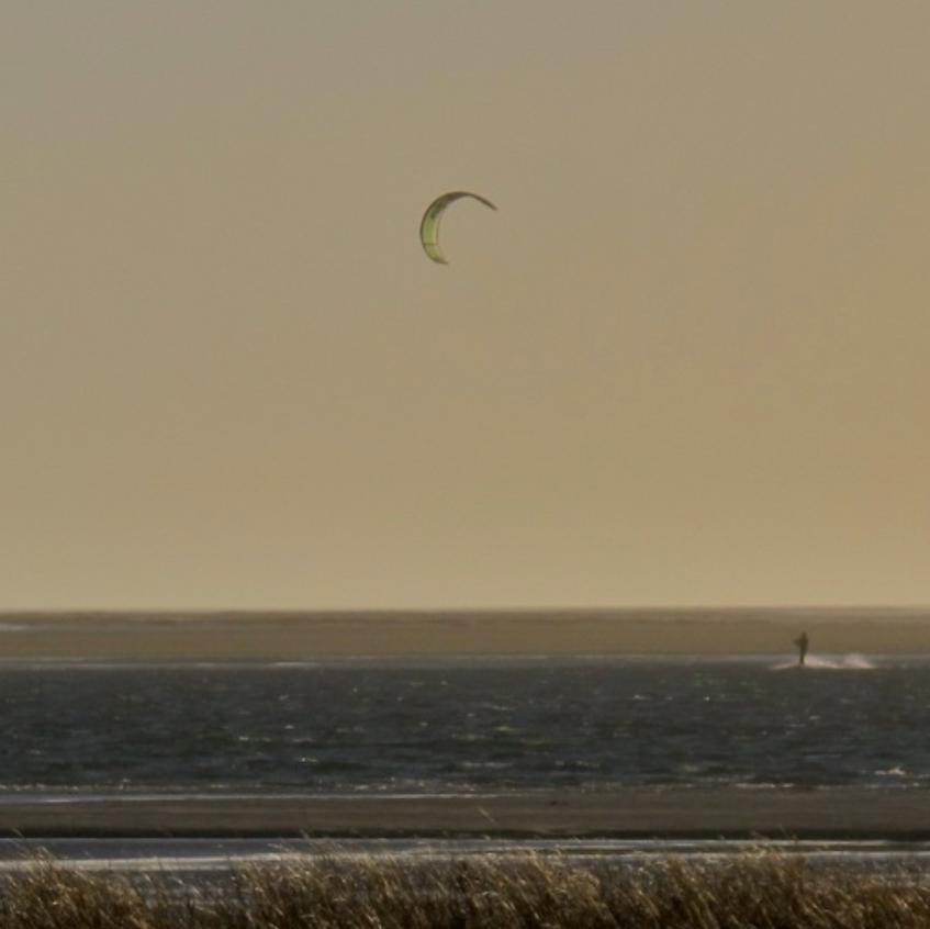 Strong breeze, flat water...all good