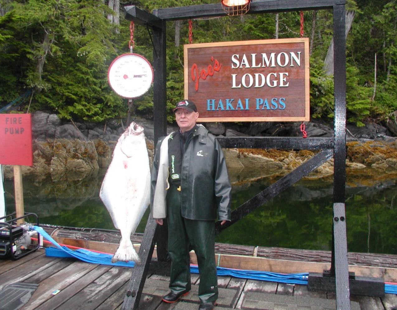 Joe's 46 pound halibut!!