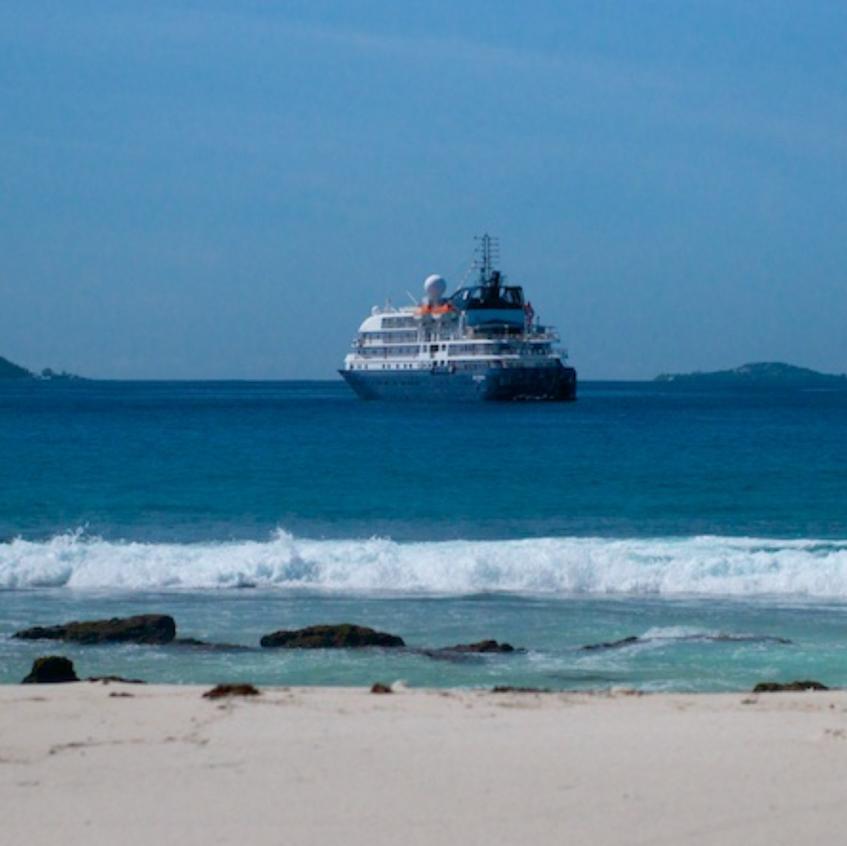 sland Sky, Off of Aride Is. The Seychelles