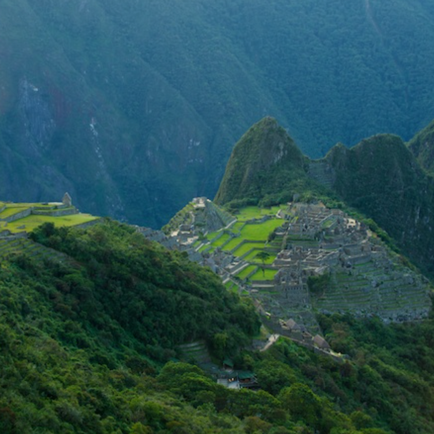 The first look at Machu Picchu