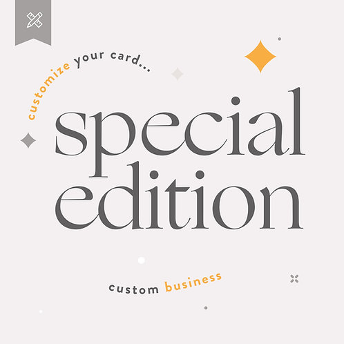 Business Special Order Full Edition/Fast Delivery