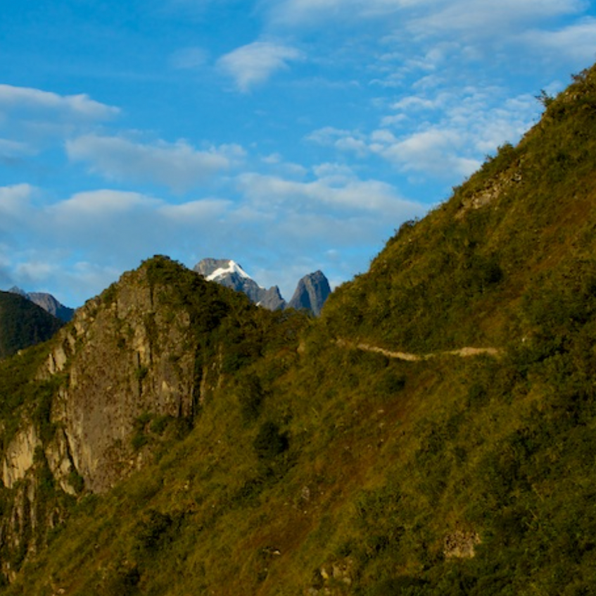The Sun Gate - Inca trail ends here and marks the entrance to Machu Picchu