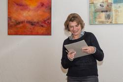 Ruth präsentiert die Jahresrechnung 2016