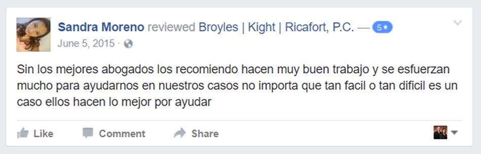John Broyles BKR immigration attorney review facebook