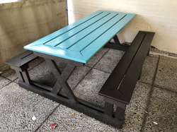 8 top picnic table