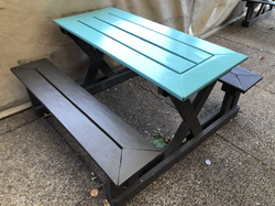 4 top Picnic Table