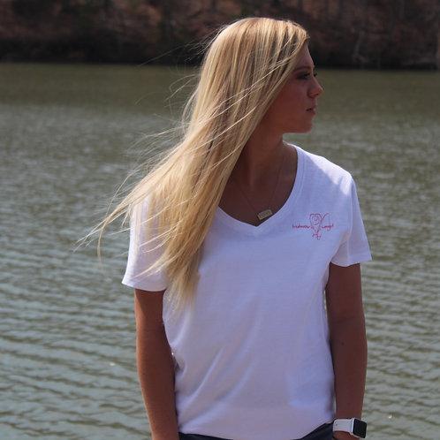 Women's Freshwater Signature White Shirt