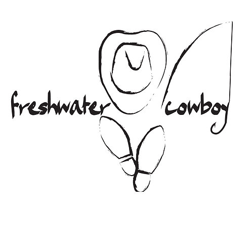 Freshwater Cowboy Sticker