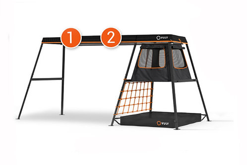 Vuly MAX C2 Playset Frame incl Cubby+SHADE COVER +ROVER+FREE DELIVERY