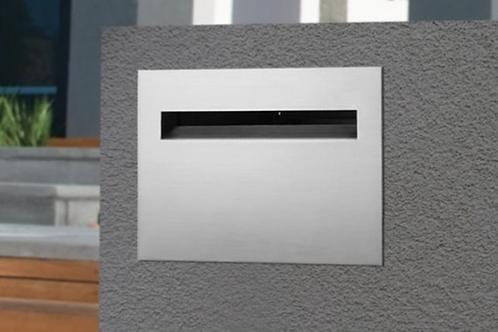 Palazzo SS rear opening letterbox with sleeve