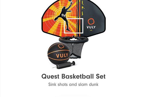 Basketball hoop for Monkey Bar