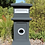 Thumbnail: Melaleuca Pillar Letterbox (includes slab for installation)
