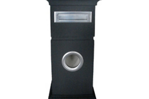 Grevillea Pillar Letterbox (includes slab for installation)