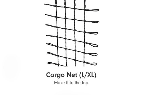 Cargo net for Monkey Bar