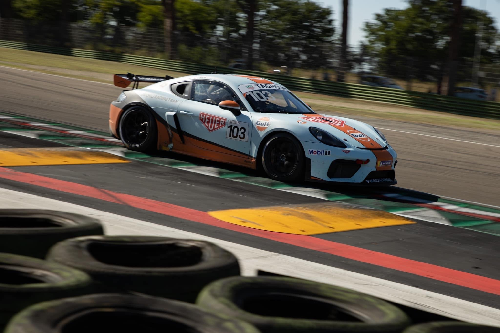 Coaching compétition Porsche Cayman 718 GT4 MR