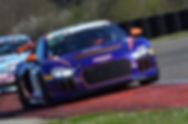 Antoine Leclerc en GT4 Series sur une Audi R8 (Riviera Motorsport)