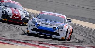 Antoine Leclerc au volant de l'Alpine GT4 (GT4 International Cup)