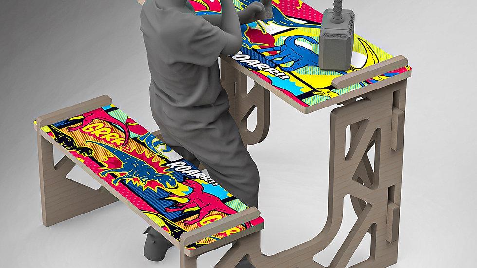 Bad Dinosaur - Kids Desk