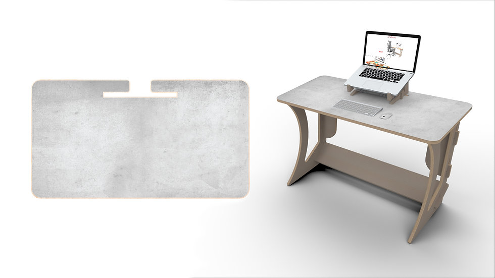 Concrete Desk