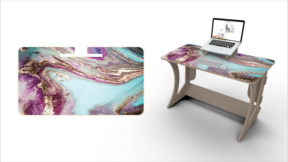 Mystic Ocean Desk