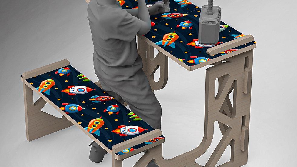Rocket Man - Kids Desk