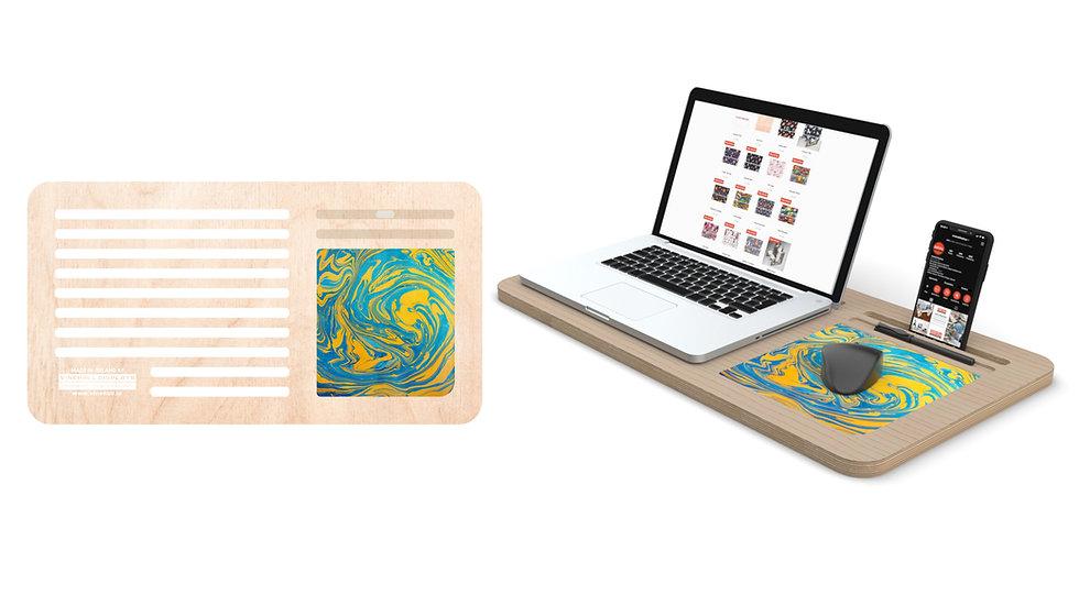 Mystic Ocean Lap Desk