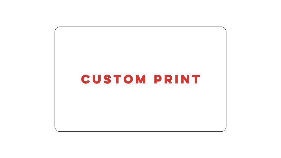 Custom Print - Weight Blocks