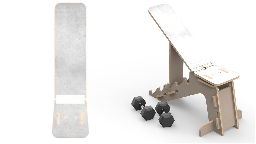 Concrete Weights Bench
