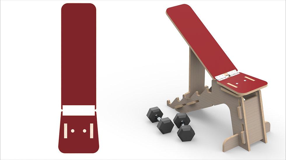 Pantone Weights Bench