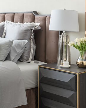 classic bedroom style with set of pillow