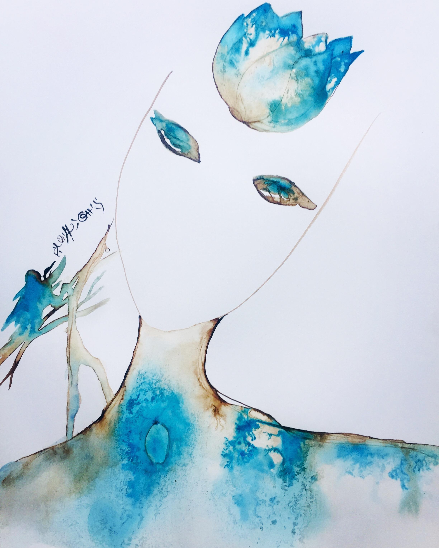 Blue Woman