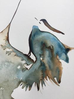 coeur Oiseau détail