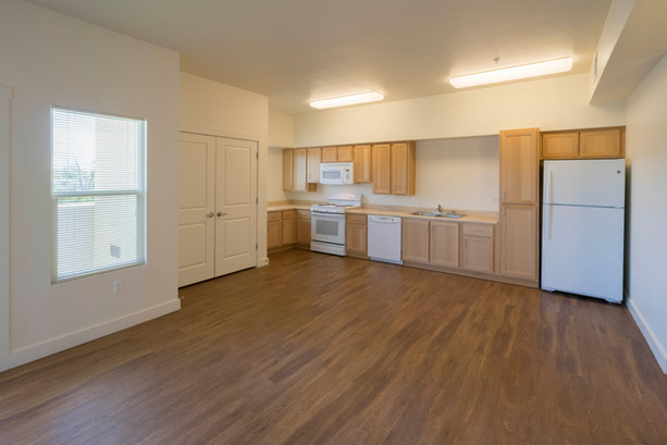 Full Size Kitchen in all Homes