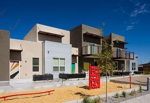 Casa Feliz front yard/door