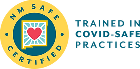 NM Safe Certified Badge Trained In Covid Safe Practices