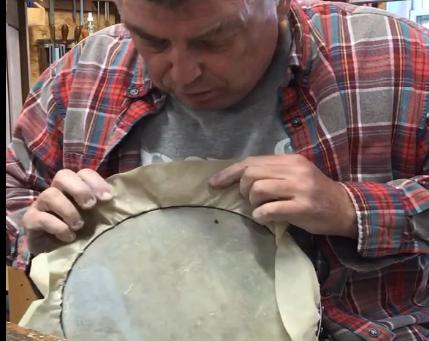 Adding Skin to an Old Banjo Rim
