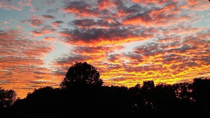 oct blog - sunset
