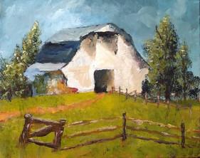06c barn - century farm 1 tn - painting.