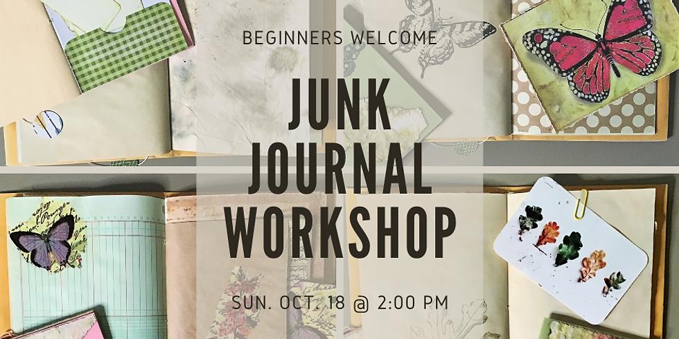 Junk Journal Workshop