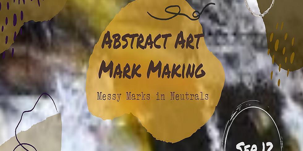 Abstract Art Mark Making