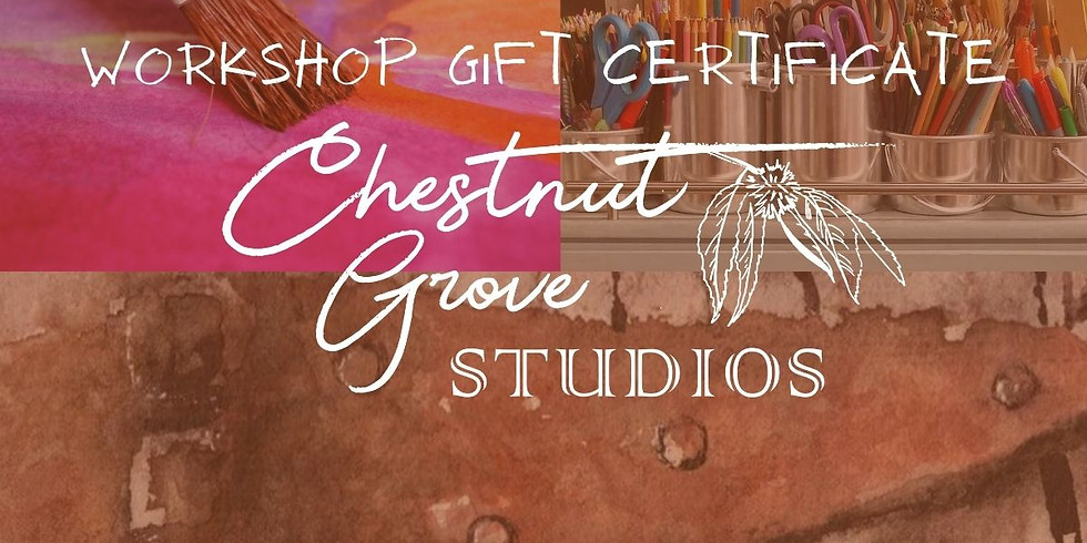 Workshop Gift Certificate $35