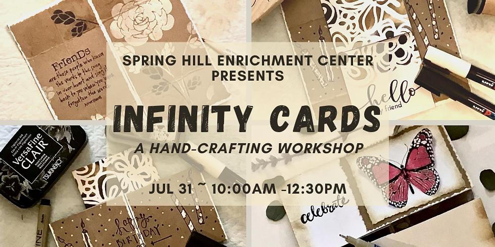Mimosas & Mixed Media Infinity Card Workshop