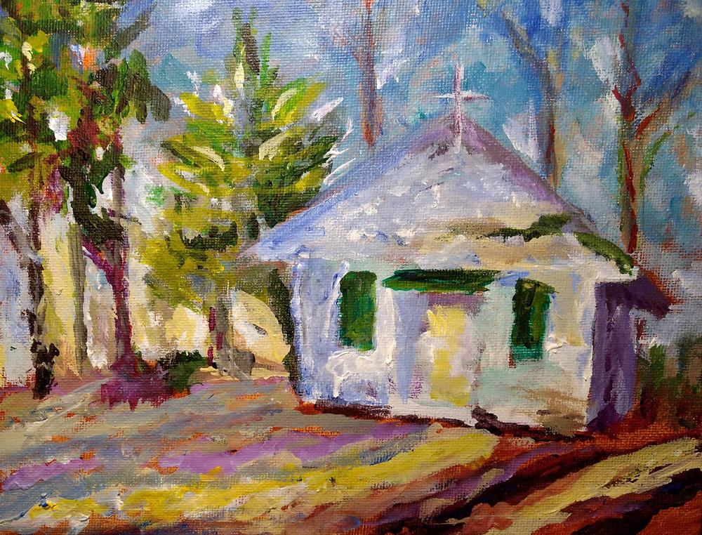 1 churches - Old Trinity Episcopal - Mason-Actual Painting-7x9.jpg