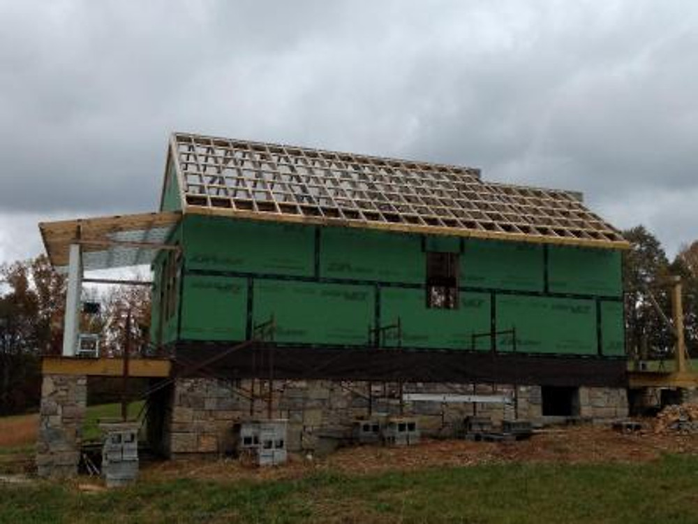 right back side roof blocking